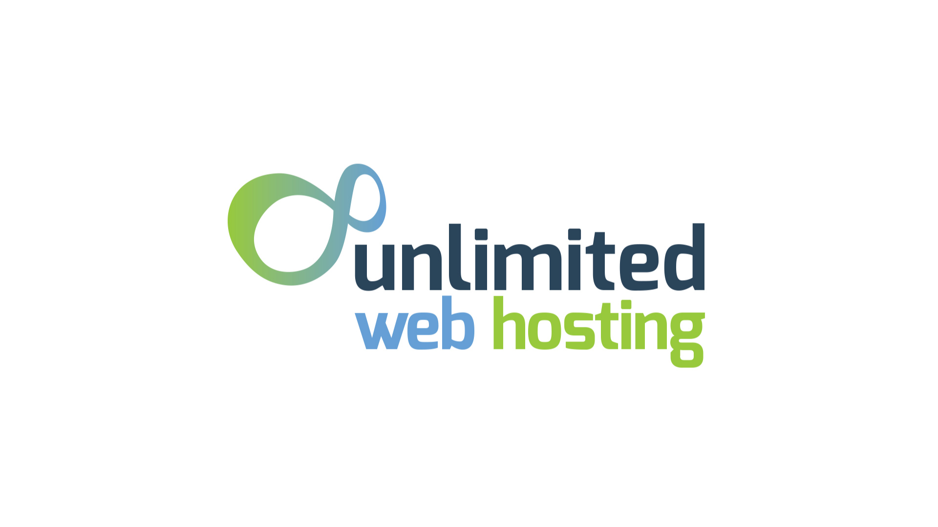 Large Unlimited Web Hosting logo banner