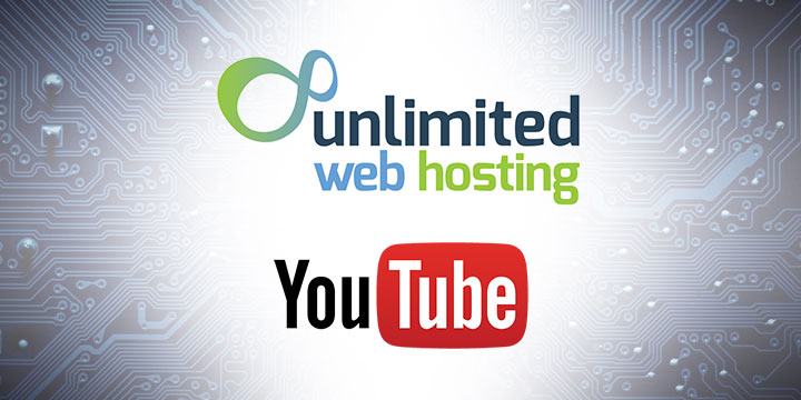 Unlimited Web Hosting youtube banner