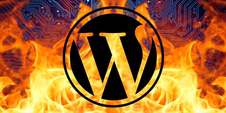 WordPress Malware Banner