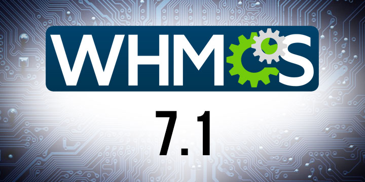 WHMCS 7.1 Banner