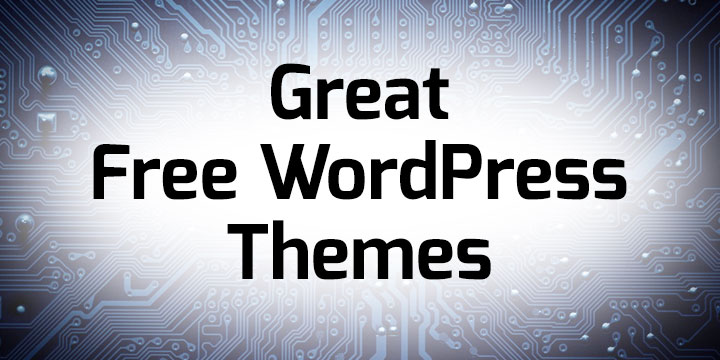 Great Free WordPress Themes - Unlimited Web Hosting Blog