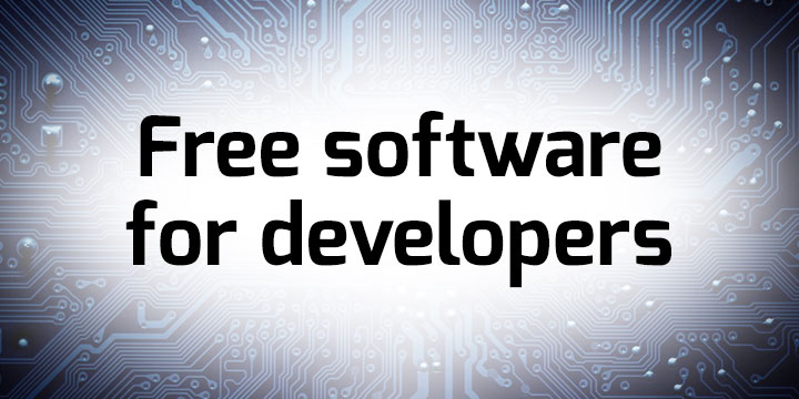 Free software banner