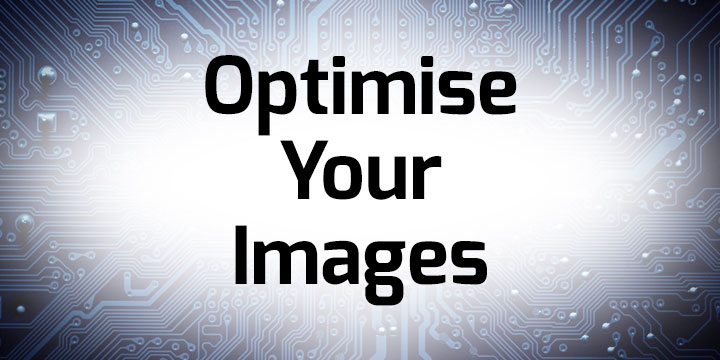 Optimise Your Images banner