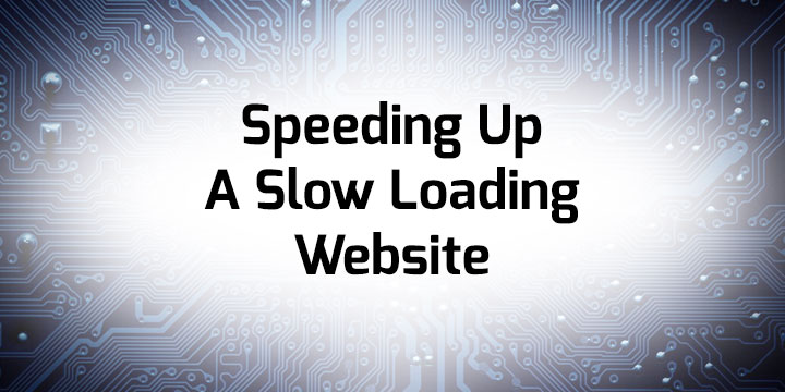 Speeding up a slow loading website