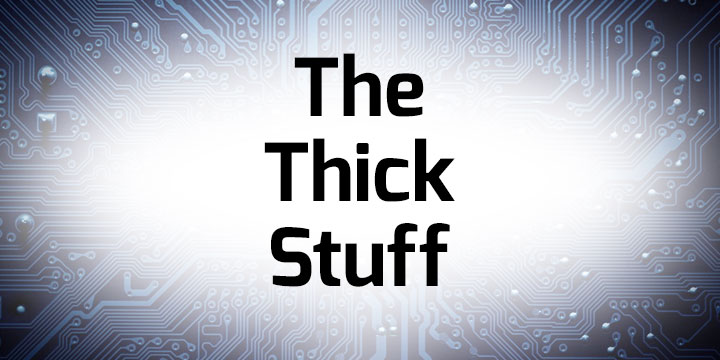 The Thick Stuff banner
