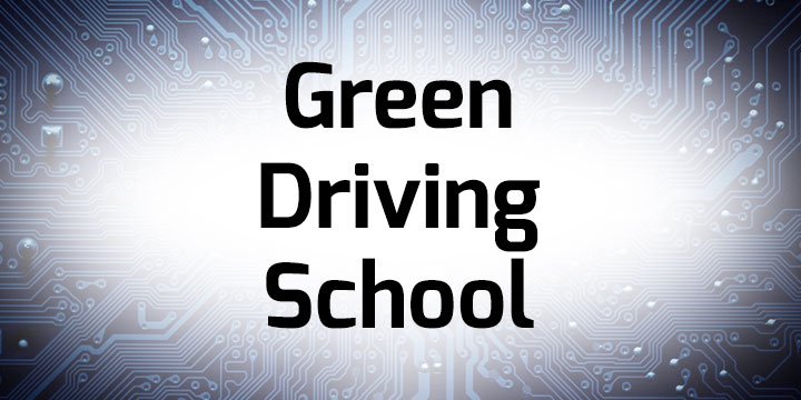 Green Driving School banner