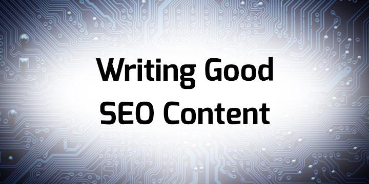Good SEO Content Banner