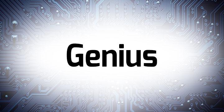 Genius Banner